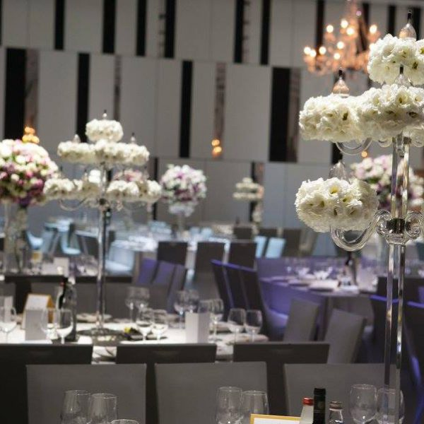 Elegant Indoor Wedding