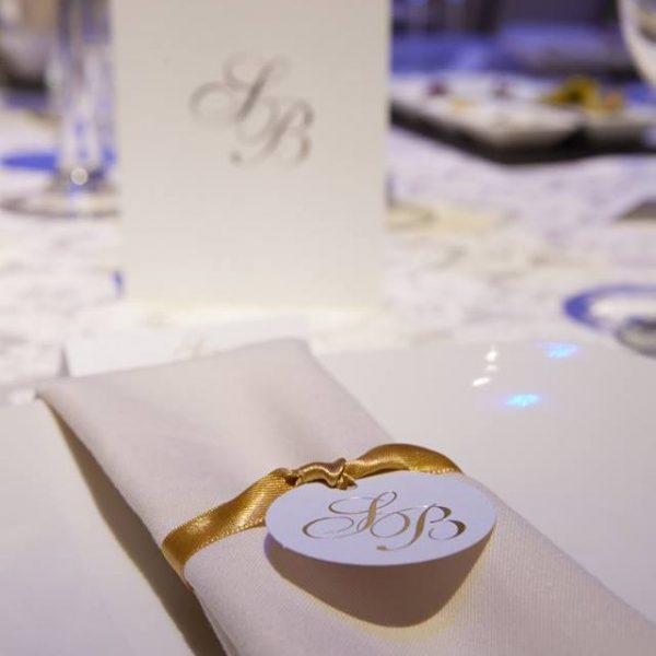 Elegant Indoor Wedding