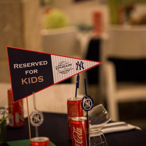 Baseball Theme Bar Mitzvah Party
