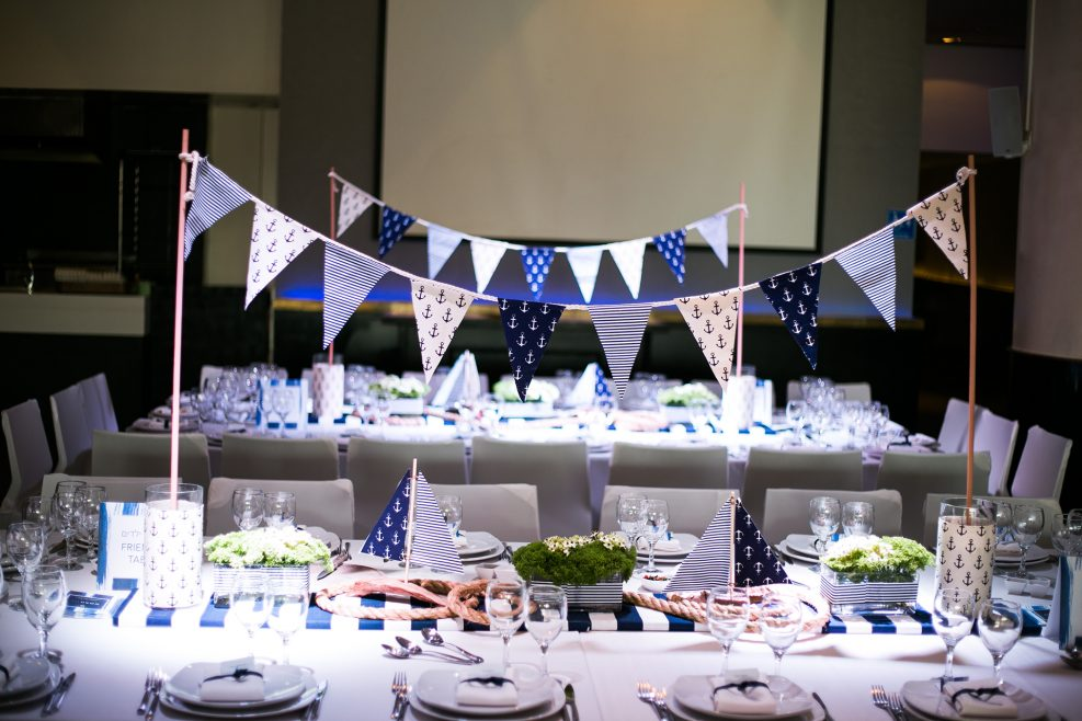 Nautical Themed Bar Mitzvah Party